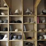 千駄木 帽子店 C.A.G.の写真_007(設計:有限会社MuFF)